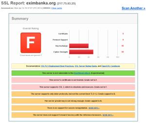 Bezpečnostný test InternetBankingu EXIMBANKA SR