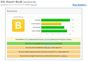 Bezpečnostný test InternetBankingu Fio banka, a.s., pobočka zahraničnej banky