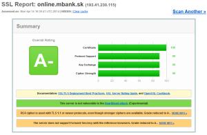Bezpečnostný test InternetBankingu mBank S.A., pobočka zahraničnej banky