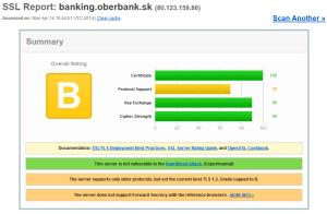 Bezpečnostný test InternetBankingu Oberbank AG pobočka zahraničnej banky v Slovenskej republike