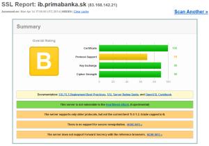 Bezpečnostný test InternetBankingu Prima banka Slovensko, a.s.