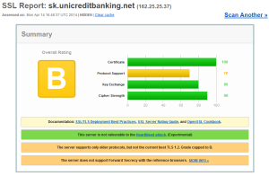 Bezpečnostný test InternetBankingu UniCredit Bank Slovakia a.s.
