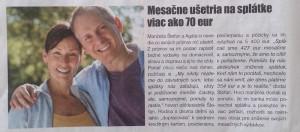OTP Banka - Štefan a Agáta mesacne ušetria na splátke viac ako 70 eur