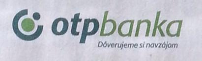 OTP Banka - Dôverujeme si navzájom