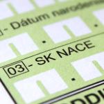 SK NACE - Predmet prevažujúcej činnosti